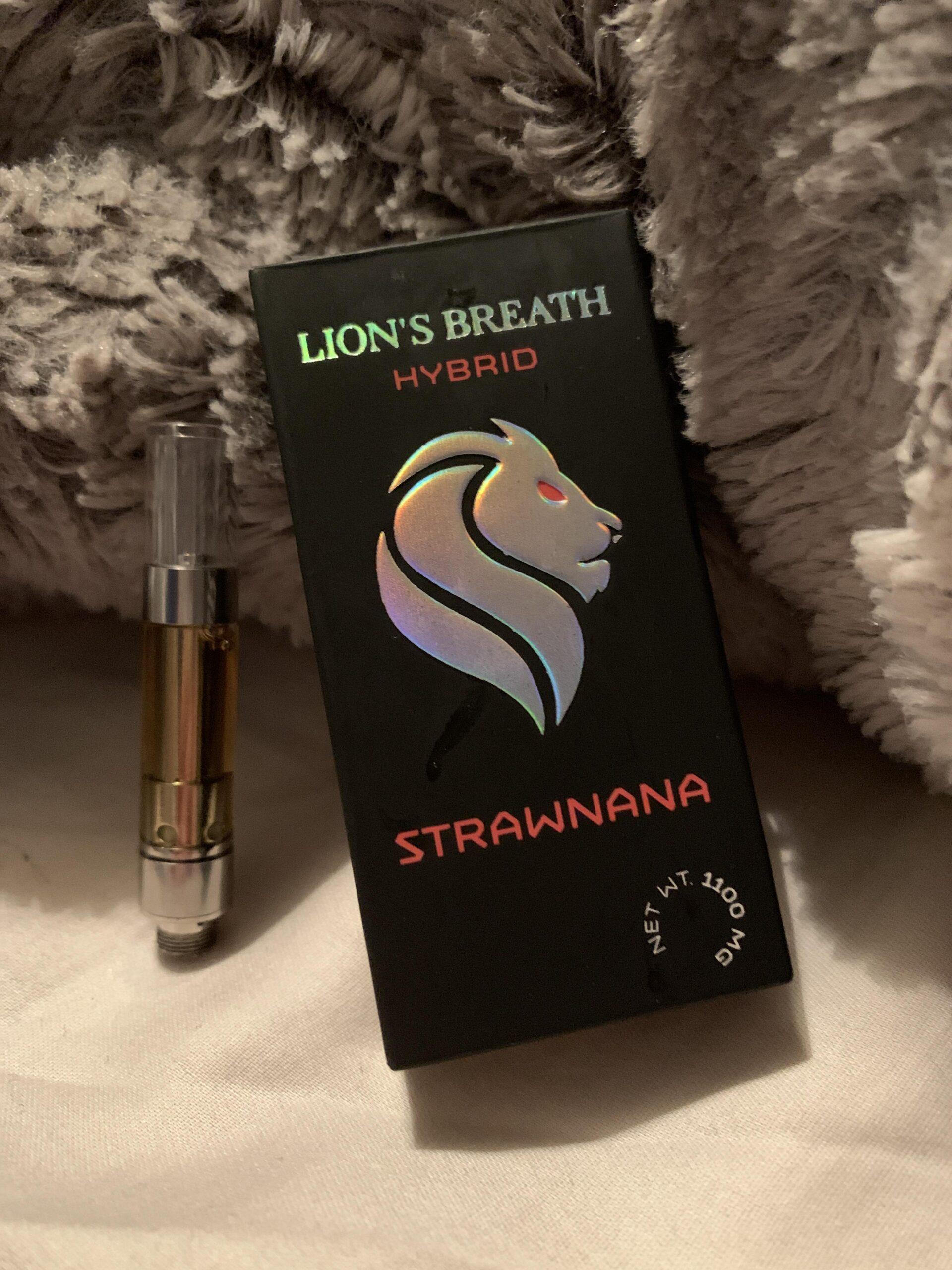 Lions Breath Strawnana 1.1g